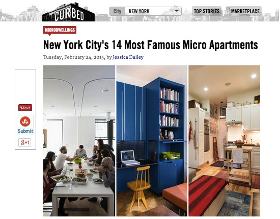 Curbed most famous